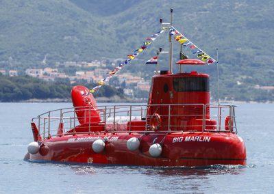 55 PAX semisubmarine - Krk, Croatia - Big Marlin