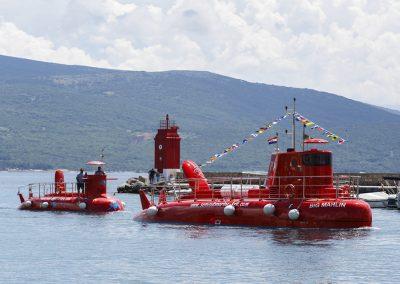 12 PAX and 55 PAX semisubmarine