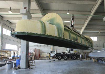 Boatyard semisubmarine- Agena Marin
