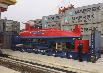 BonSea semisubmarine delivery by Agena Marin